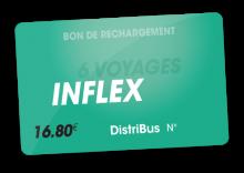 Carte Inflex 6 voyages (16.80 €)