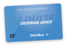 Distripass Adultemensuel (33 €)