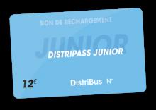 Distripass Junior mensuel (12 €)